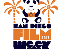 The Logo for the First ever San Diego Film Week