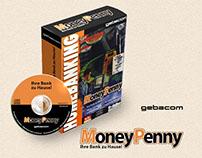 Boxdesign für MoneyPenny