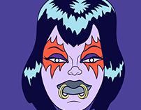Goth Girl Pattern