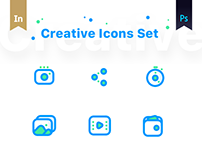 Creative Icons set