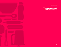 Tupperware Apron Design