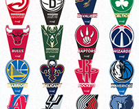 Presentation Design for the 2015 NBA Playoffs
