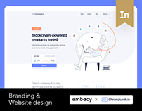 Chronobank Branding & Website Design