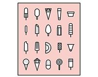 NHAMi - ice cream icons