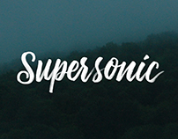 Hand Lettering // SUPERSONIC