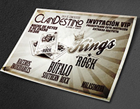 Gala Kings of Rock, Concierto en Albacete 05/01/2019