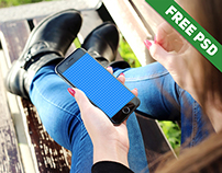 Free Realistic iPhone 6 Mockup