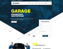 Garage - Landing Page