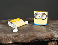 Minion Headphones Packaging