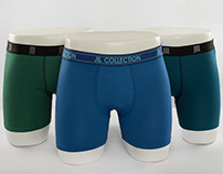 Men's boxers   campaign   Products photography