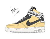 Sneaker Illustration !