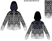 starey night zipper jacket