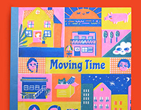 Moving Time Children Storybook