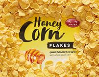 """Breakfast Cereals """"Wafra"""". Packaging Design"""