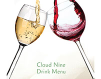 cloud 9  drink menu