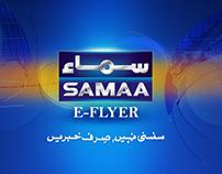 Samaa  E Flyer