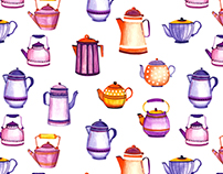 Tea Time - pattern collection