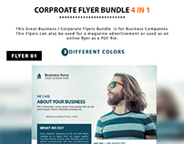 Corporate Flyer Bundle 4 in 1
