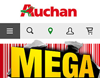 Auchan eCommerce - Mobile Device
