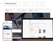 TM Electric: UI/UX and Web Design