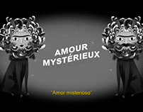 """""""Amour Mystérieux"""" — Set de ilustraciones"""