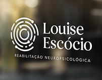 Marca e identidade visual Louise Escócio Neurofeedback