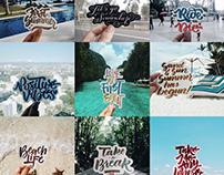 Travel x Calligraphy