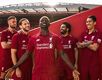 Liverpool 18/19 Kit Launch