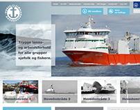 Norsk Sjømannsforbund - Webdesign