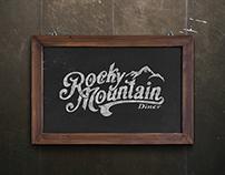 Restaurant Branding | Rocky Mountain Diner