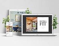 VETTA & VETTA HOMES MAGAZINES (art direction + design)