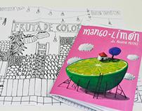 Mango limón (librillo para colorear)