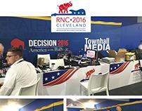 2016 RNC Salem Radio / Townhall Barricade Design
