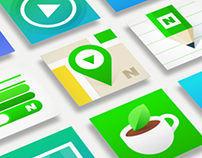 NAVER Square Icon Motion