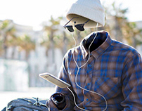 A música transporta você