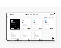 Projects App - UI/UX