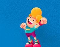 Character Design and Gigantic Grain Brushes