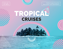 Tropical Cruises | Modern and Creative Templates Suite
