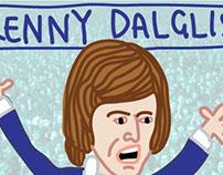 FITBA' CRAZY: Kenny Dalglish