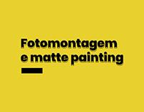 Fotomontagem e matte painting