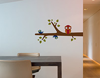 Wall graphics for Lascoo