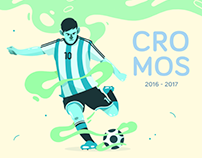 Cromos / Ilustración deportiva