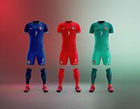 Portugal x Nike - Vapor Kits
