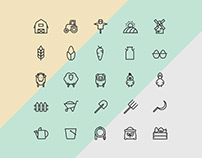 25 Free Agriculture Icons