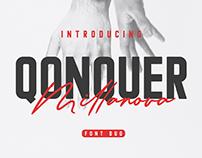 Qonquer Millanova | Font Duo