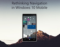 Rethinking Navigation in Windows 10 Mobile