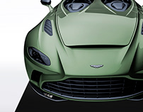 2020 Aston Martin V12 Speedster Navy Green