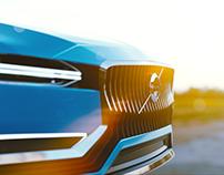 Volvo Coupe Concept CGI