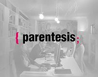 Presentación Logotipo Agencia Parentesis