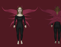 Character Design - 'The Evil Fairy'